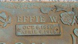 Effie <i>Wayland</i> Garrison