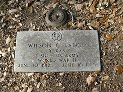 Wilson C Lange
