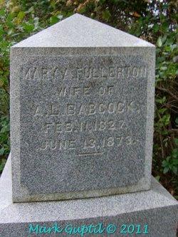 Mary A <i>Fullerton</i> Babcock