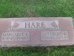 Margaret Esther <i>Russell</i> Hare