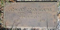 Leonard Joab Alkire