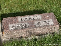Jessie A <i>Curtis</i> Baker