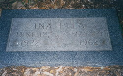 Ina Ella <i>Archer</i> Glasscock