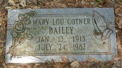 Mary Lou <i>Cotner</i> Bailey