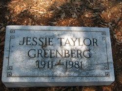 Jessie <i>Taylor</i> Greenberg