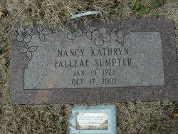 Nancy Kathryn <i>Falleaf</i> Sumpter