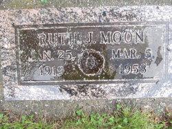 Ruth J Moon