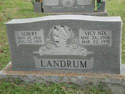 Vicy <i>Nix</i> Landrum