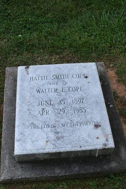 Hattie <i>Smith</i> Cope