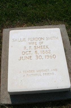 Sallie Perdon <i>Smith</i> Sheek