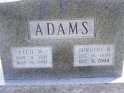 Cecil William Adams