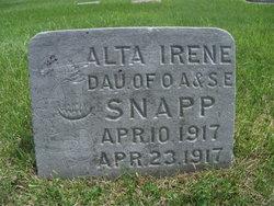 Alta Ilene Snapp