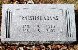 Ernestine Jones <i>Kinard</i> Adams