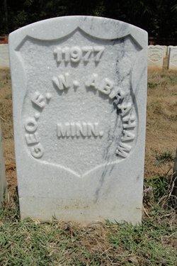 Pvt George W. F. Abraham