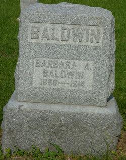 Barbara A <i>Burk</i> Baldwin