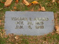 Virginia Elizabeth <i>Barham</i> Arnold