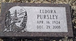 Evelyn Eldora <i>Hopkins</i> Pursley
