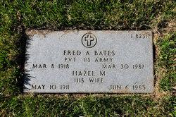 Fred A Bates