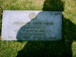 Sgt Adolph Videtich