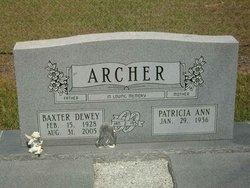 Baxter Dewey Archer