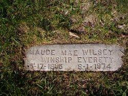 Maud May <i>Wilsey</i> Everett