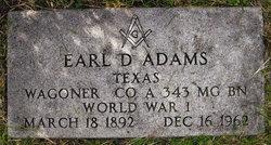 Earl Delany Adams