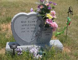 Mae <i>Elam</i> Appleton