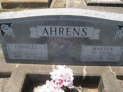Martha <i>Frantzen</i> Ahrens