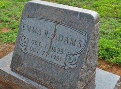 Emma Rachel <i>Carroll</i> Adams