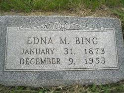Edna M <i>Patrick</i> Bing