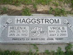 Helen K <i>Nelson</i> Haggstrom