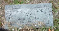 Jimmie <i>McBryde</i> Ivy
