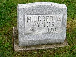 Mildred E <i>Morgan</i> Rynor