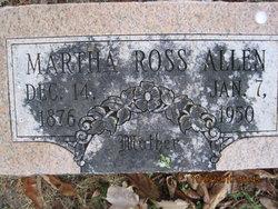 Martha <i>Ross</i> Allen