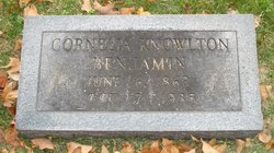 Cornelia <i>Knowlton</i> Benjamin