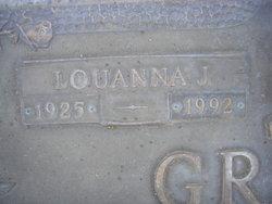 Louanna J <i>Simon</i> Graves