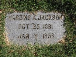 Harding A Jackson