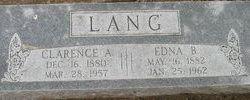 Clarence Addison Lang