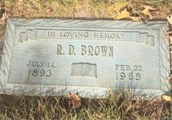 R D Brown