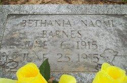 Bethania Naomi Barnes