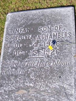 Infant Son Chambers