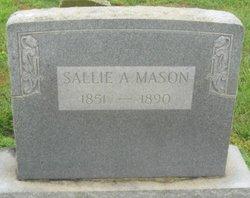 Lavenia A Sallie <i>Orrender</i> Mason