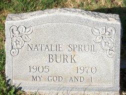 Natalie <i>Webb</i> Spruil Burk