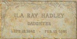 Ila Ray Hadley