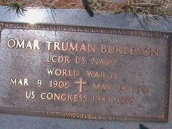 Omar Truman Burleson