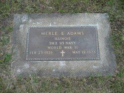 Merle Eldren Adams
