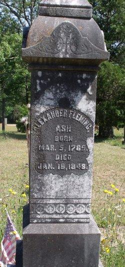 Alexander Fleming Ash