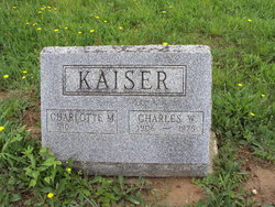 Charlotte M. <i>Phillips</i> Kaiser