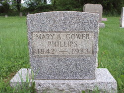 Mary A. <i>Gower</i> Phillips
