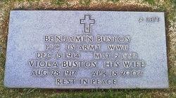 PFC Benjamin Bustos